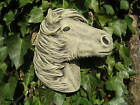 Small Horse  Wall Plaque stone garden ornament   Many more ornaments in my shop!