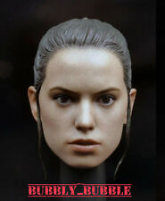 1/6 Daisy Ridley Custom Head Sculpt For Hot Toys Star Wars Rey  SHIP FROM USA