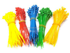 500 FASCETTE CABLAGGIO PLASTICA NYLON COLORATE CABLE TIES 500 PZ 100 mm