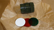 NATO.Army torch angle head. Filter kit.Green,Red,white.NIB.