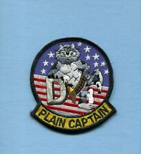 GRUMMAN F-14 F-14D TOMCAT PLANE CAPTAIN Mistake US NAVY Ship Squadron Patch