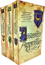 Robin Hobb The Farseer Trilogy Series Collection 3 Books Set Pack RRP £26.97
