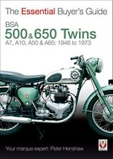 BSA 500 & 650 Twins The Essential Buyers Guide 1946 to 1973 book paper