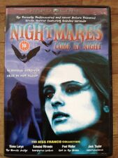 Nightmares Come At Night-Soledad Miranda(Region2 DVD)Jess Franco Slasher Horror