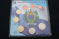 DIVISIÓN COMPLETO EURO SAN MARINO 8 MONEDAS FDC COLECCIÓN SAINT MARIN 2012 8p