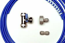 American Fridge Freezer Plumbing Kit 10M Pipe, T Valve, Adaptor, Pipe Connector