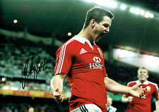 Jonathan SEXTON Signed Autograph 18x12 RARE British Lions Rugby Photo AFTAL COA