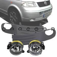 For 03-09 VW Transporter T5 Front Grill Fog Driving Light Lower Bumper Full Kit