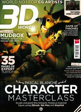 3D WORLD #179 3/2014 PASCAL BLANCHE CHARACTER MASTERCLASS Game of Thrones @NEW@