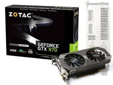 ZOTAC GeForce GTX970 4GB Carte Graphique PCi-E 2x DVI HDMI DisplayPort VGA