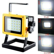 30W 20LED 3Modes LED Working Lamp Rechargeable Floodlight Camping Fishing Light