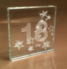 Happy 18th Birthday Gift Ideas Spaceform Mini Glass Token Gifts Idea 1606