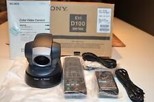 Sony EVI-D100 Video Conferencing Camera