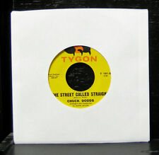 "Chuck Dodds - The Street Called Straight VG+ 7"" Private Obscure Rock Tygon T 101"