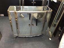 Argent miroir vénitien buffet armoire