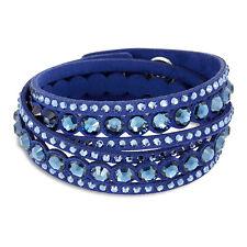 Swarovski Slake Dark Blue Dot Bracelet 5201118