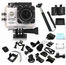 "NEW Action Camera SJ7000 (Updated Ver.)2.0""Screen Wifi 1080P FHD Waterproof 30m"