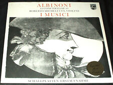 ALBINONI 12 CONCERTI I MUSICI ROBERTO MICHELUCCI violin PHILIPS LP BOX SET mint