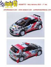 DECAL  1/4  - Fiat Punto S2000 - ROSSETTI   -  Rally Adriatico  2010 1° Ass.