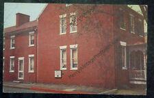 Winchester, Virginia, Cannon Ball House (postcard)civilwar#30