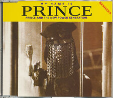 Prince and the N.P.G. My Name Is Prince (Remixes) RARE 3 track import CD single