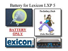 Battery for Lexicon LXP 5 Effects Unit - Backup Memory Replacement Battery
