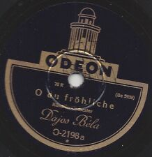 Dajos Bela spielt Weihnachtslieder : Stille Nacht, heilige Nacht + O du fröhlich