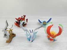 Pokemon Kaiyodo Figure Lugia Ho oh Arceus Kyogre Groudon  Set of 5 Toy Lot
