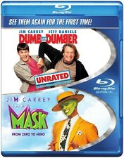 Dumb and Dumber [Unrated]/The Mask (2012, Blu-ray NIEUW) BLU-RAY/WS