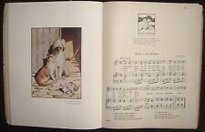 A NURSERY GARLAND WOVEN BY KITTY CHEATHAM MUSIC GRAHAM ROBERTSON ILLUSTRATED
