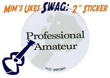 """MIM: Mim's Ukes SWAG 2"""" Sticker Ukulele / Uke - Professional Amateur"""