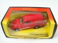 Corgi Classics #C496/1 - Ford Escort Van - Red (Royal Mail) - A+/B