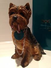 Yorkshire Terrier Yorkie Dog Ornament Figurine Figure Gift Present