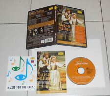Dvd Giuseppe Verdi LUISA MILLER James Levine Placido Domingo Renata Scotto