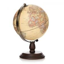 LED Light Up World Globe Rotating Swivel Map of Earth Atlas Geography Vintage