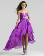 1198 CLARISSE 2307 5-6 VERY BERRY $250   FORMA FORMAL   PAGEANT PROM GOWN DRESS