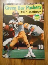 Old Vintage 1977 Green Bay Packers Yearbook NFL Football Publication Booklet