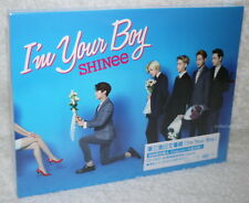 SHINee I'm Your Boy Taiwan Ltd CD+DVD+48P booklet+Card (Ver.A)
