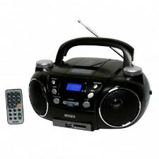 NEW*Jensen*PORTABLE STEREO RADIO CD Player*with MP3 Encoding to USB SD/SDHC/MMC