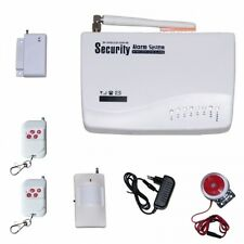 Wireless GSM Security Alarm System + IR Motion & Door Movement Detector