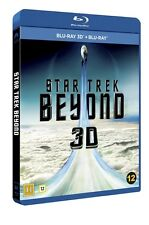 Star Trek Beyond 3D + 2D Blu Ray (Region Free)