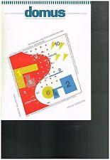 Domus Magazine No. 711 - December 1989 Italian Architecture and Design
