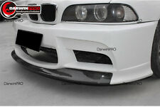 1997-2003 BMW 5 Series E39 Portion Carbon Fiber DP Style Front Bumper Body Kit