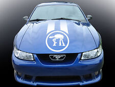 RACE STRIPE Star Wars At-At 1. Custom car vinyl sticker. Track viper transfer.