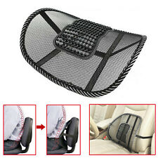 Cool Office Chair Car Seat Cover Sofa Massage Cushion Lumbar Back Brace Pillow