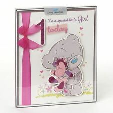 CARTE BLANCHE ME TO YOU  1ST BIRTHDAY GIRL HAND MADE BOXED CARD - NEW