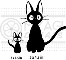 Kiki's Delivery Service - Jiji and Kitten -  vinyl decal
