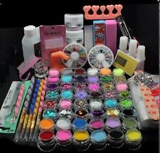 nail art nipper stainless crystal container lacquer paillettes brush  tool kit