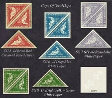 Cape of Good Hope Sg5,6,7.8 (forgeries)