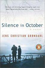 Silence in October - Jens Christian Grondahl (Paperback)